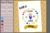Keeper of the Gender / Gender Reveal T Shirt Design files example image 3