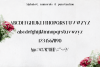 Orchid Font example image 4