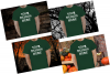 Halloween and Fall Men t-shirt Mockup Bundle, Colored T's example image 4