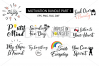SVG Motivation set, cutting files example image 1
