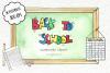 Watercolor Clip Art - Back to School example image 1