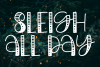 Believe In The Magic - A Christmas Handlettered Font example image 5