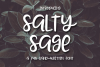 Salty Sage- A Fun Hand-Written Font example image 1