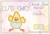 Chick Set_Appliquè example image 3