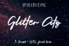 Glitter City Font Trio  Logos example image 1