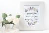 Purple Flowers Sublimation Clipart Bundle Wedding Floral example image 4