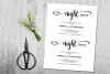 The night before, Rehearsal Dinner Invitation template example image 3