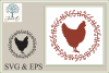 Farmhouse Wreath with Chicken example image 1