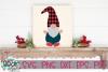 Buffalo Plaid Hat Gnome - A Gnome SVG example image 1