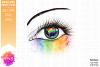 Pride Flag Awareness Eye - Printable Design example image 2