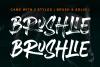 Brushlie - urban typeface - example image 2