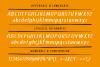 Theologos handmade brush font example image 7