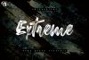 New Extreme Brush Font example image 1