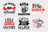 Valentine's Bundle SVG | Cut Files for Crafters | Kids SVG example image 5