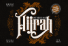 Hijrah - Blackletter Typeface example image 1