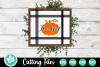 Thankful Pumpkin Sign - A Fall SVG Cut File example image 1