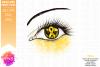Yellow Awareness Ribbon Eye - Printable Design example image 2