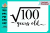 Square Root of 100 Years Old example image 1