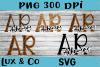 Arkansas AR State Leopard Bundle example image 1