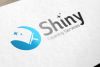 Shiny Cleaning Services Logo - SK example image 1