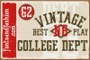 Vintage College Dept_Pack example image 14
