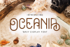 Oceania Display Font example image 1