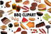 BBQ Clipart example image 1