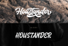 Houstander font duo example image 7