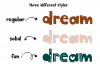 The Wild One - A Fun Handwritten Font with Alternatives! example image 7