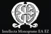 Intellecta Monograms EA EZ example image 1