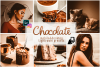 Chocolate presets brown preset lightroom mobile instagram pc example image 1