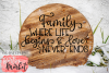 Family Where Life Begins & Love Never Ends SVG DXF EPS PNG example image 3