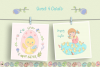 Happy Easter Illustration Set example image 3