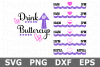 Drink Up Buttercup - A Water Tracker SVG Cut File example image 1