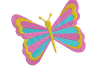 8 Butterflies Machine Embroidery designs example image 5