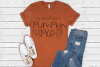 Fall - Autumn - My Blood Type Is Pumpkin Spice SVG example image 2