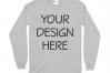Gildan 5400 Long Sleeve Tshirt Mockups-16 example image 16