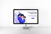 photography landing page flat design example image 2