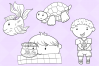 Kids With Pets Digital Stamps example image 4