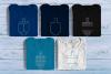Hanukkah Dreidel Rhinestone SVG Template Mini Bundle example image 1