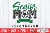 Soccer Senior Mom | Soccer svg Cut File example image 2