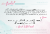 Oh So Lovely Font a SVG Brush font example image 12