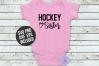 Hockey Sister SVG - Hockey Shirt Cutting File example image 3