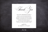 Printable Thank You Letter Template, Wedding Table Thank You example image 3