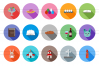 35 Easter Flat Long Shadow Icons example image 2