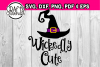 Wickedly Cute- Halloween SVG / DXF example image 2
