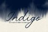 Indigo - 45 Watercolor Textures example image 1