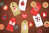 Christmas Ribbons, Stickers, Tags example image 5