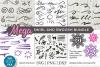 Swirl and swoosh svg bundle, flourish svg, swirls & swooshes example image 1
