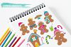 Gingerbread Colorful graphics and illustrations example image 3